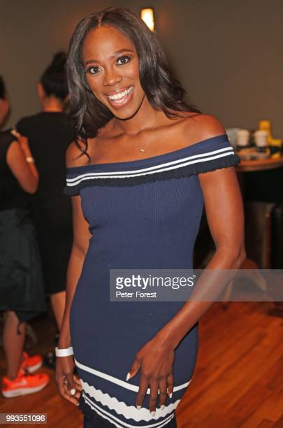 Yvonne Orji poses for a photo during HBO's Insecure Live Wine Down at Essence at the Ace Hotel on July 7 2018 in New Orleans Louisiana