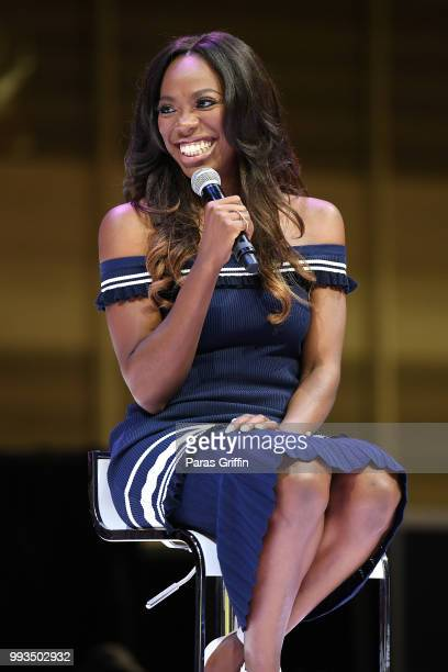 Yvonne Orji speaks onstage during the 2018 Essence Festival presented by CocaCola at Ernest N Morial Convention Center on July 7 2018 in New Orleans...