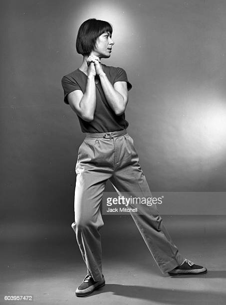 Yvonne Rainer photographed in May 1982.