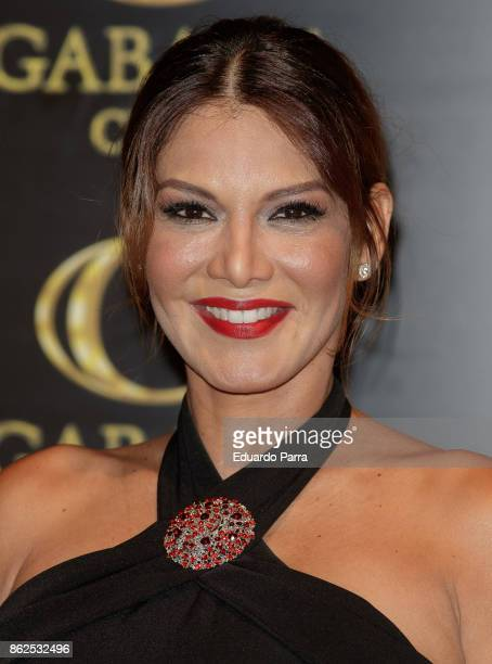Yvonne Reyes attends the 'Yvonne Reyes birthday party' photocall at Gabana disco on October 17 2017 in Madrid Spain