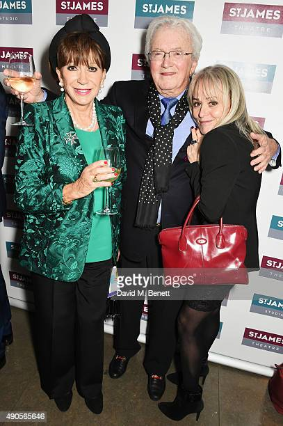 Yvonne Romain Leslie Bricusse and Tracie Bennett attend the press night of Pure Imagination The Songs of Leslie Bricusse at the St James Theatre on...