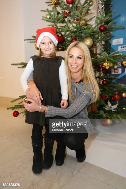 Yvonne Rueff attends with her niece the Energy for Life Christmas gala for Children at Hofburg Vienna on December 14 2017 in Vienna Austria