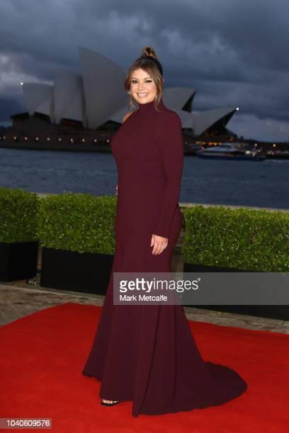 Yvonne Sampson arrives at the 2018 Dally M Awards at Overseas Passenger Terminal on September 26 2018 in Sydney Australia