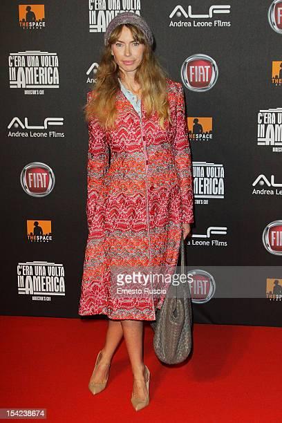 Yvonne Scio attends the 'C'era Una Volta In America Director's Cut' premiere at Space Moderno on October 16 2012 in Rome Italy