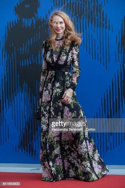 Yvonne Scio attends the The Franca Sozzani Award during the 74th Venice Film Festival at Sala Giardino on September 1 2017 in Venice Italy