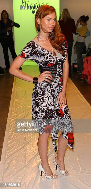 Yvonne Scio during MercedesBenz Fall 2005 LA Fashion Week at Smashbox Studios Meghan Front Row at Smashbox Studios in Culver City California United...