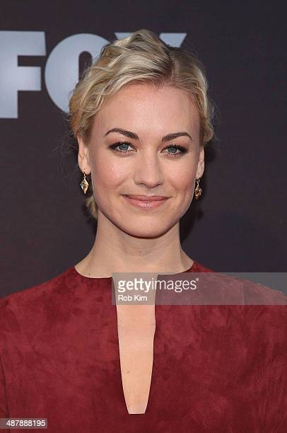 "Yvonne Strahovski attends the ""24: Live Another Day"" World Premiere at Intrepid Sea on May 2, 2014 in New York City."