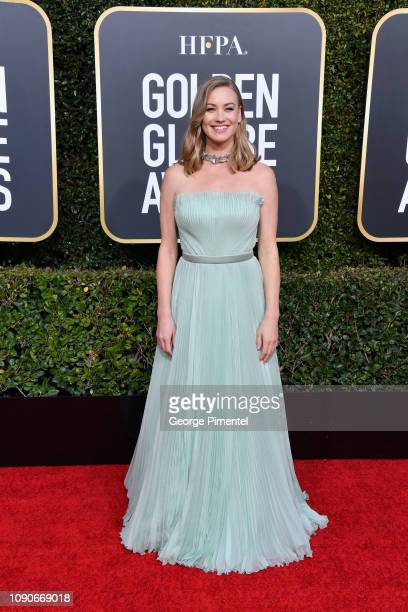 Yvonne Strahovski attends the 76th Annual Golden Globe Awards held at The Beverly Hilton Hotel on January 06, 2019 in Beverly Hills, California.