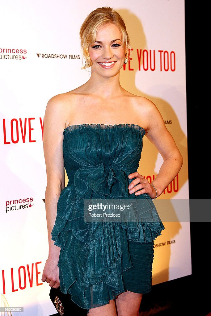 Yvonne Strahovski attends the premiere of 'I Love You Too' at Village Jam Factory on April 23, 2010 in Melbourne, Australia.