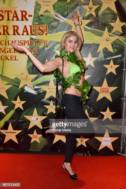 Yvonne Woelke during the Public Viewing Of the TV Show 'Ich bin ein Star Holt mich hier raus' on January 19 2018 in Berlin Germany