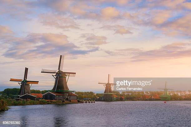 zaanse schans, amsterdam - amsterdam stock pictures, royalty-free photos & images