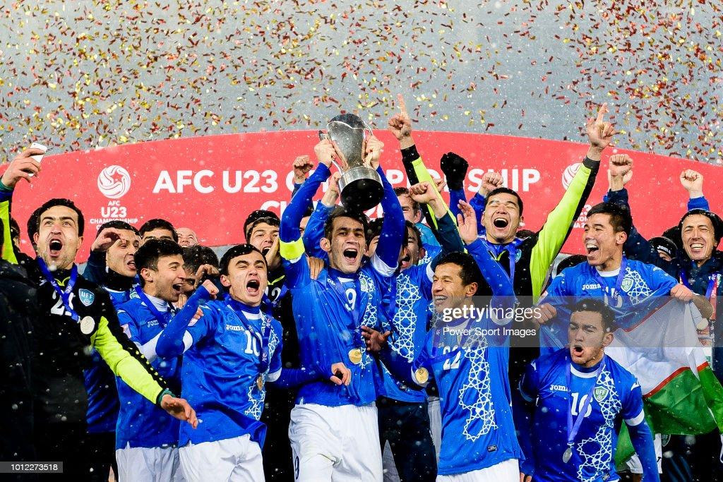 AFC U23 Championship China 2018 - Final - Vietnam v Uzbekistan : News Photo