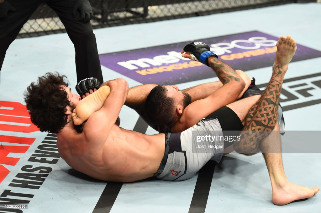 UFC 228: Magomedsharipov v Davis : News Photo