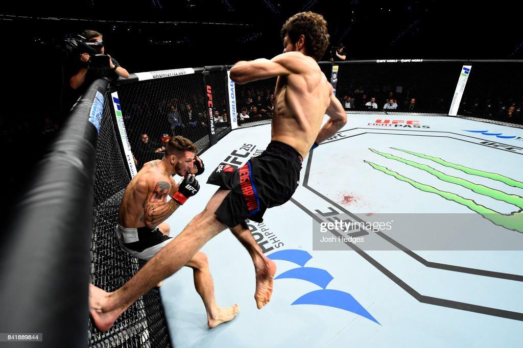 UFC Fight Night: Santiago v Magomedsharipov : News Photo