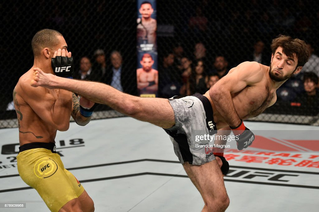 UFC Fight Night: Magomedsharipov v Moraes : News Photo