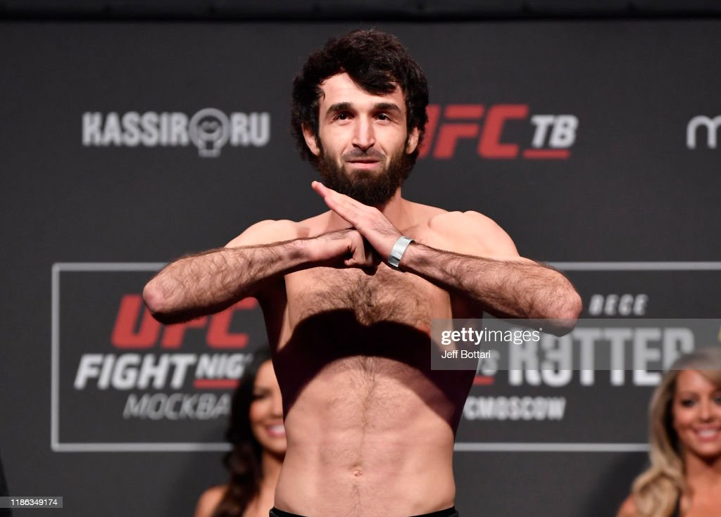UFC Fight Night Zabit v Kattar: Weigh-Ins : Nieuwsfoto's
