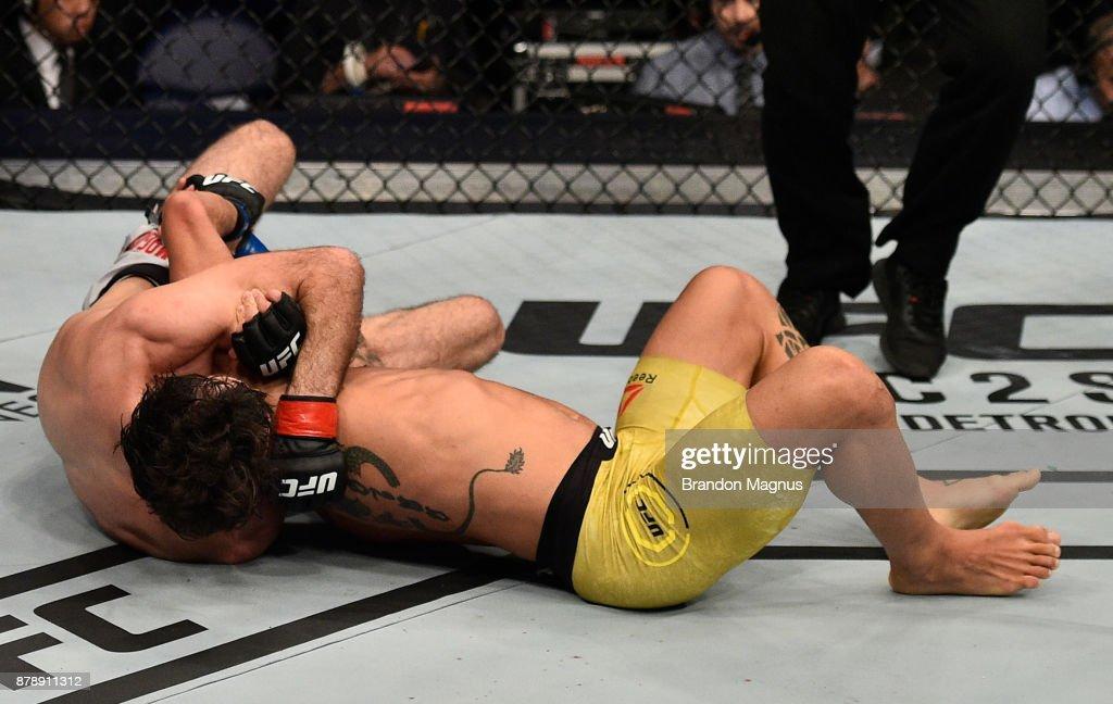 UFC Fight Night: Magomedsharipov v Moraes : Fotografía de noticias