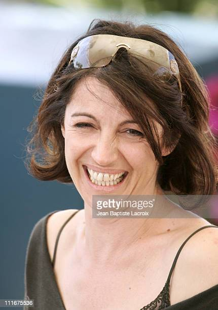 Zabou Breitman during 2004 Cannes Film Festival 'Narc' Photocall at Palais Du Festival in Cannes France