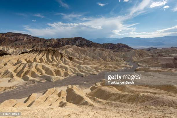 zabriskie point - great basin stock pictures, royalty-free photos & images