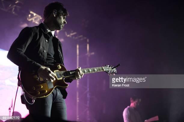 Zac Brown and Scott Hansen of Tycho perform at Forbidden Fruit Festival at the Royal Hospital Kilmainham on June 3, 2017 in Dublin, Ireland.