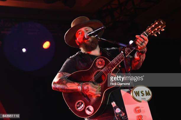 Zac Brown and the Zac Brown Band performs during CRS 2017 Day 1 on February 22, 2017 in Nashville, Tennessee.