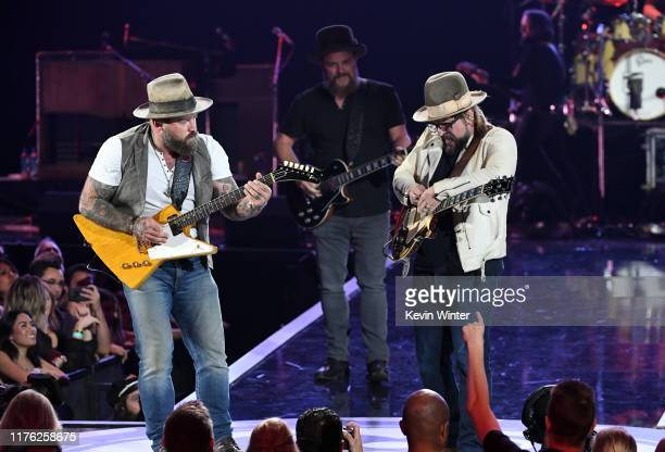 Zac Brown and Zac Brown Band perform onstage during the 2019 iHeartRadio Music Festival at T-Mobile Arena on September 21, 2019 in Las Vegas, Nevada.