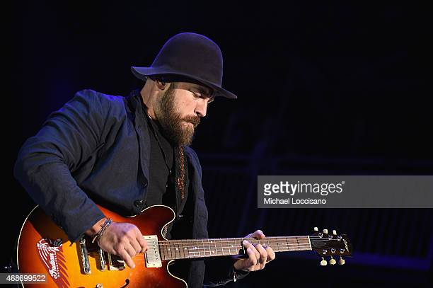 Zac Brown Band performs onstage during the Capital One JamFest at the NCAA March Madness Music Festival – Day 3 at White River State Park on April 5,...