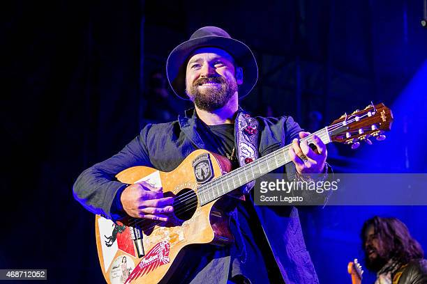 Zac Brown Band performs onstage during the Capital One JamFest at the NCAA March Madness Music Festival Day 3 at White River State Park on April 5...