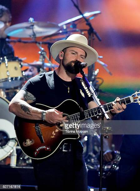 Zac Brown of the Zac Brown Band performs at 2016 iHeartCountry Festival at The Frank Erwin Center on April 30 2016 in Austin Texas