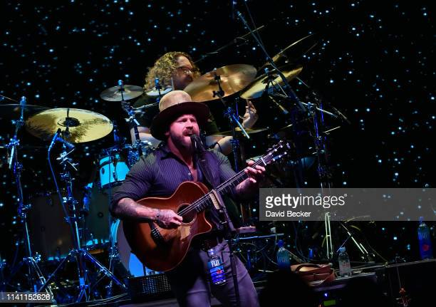 Zac Brown of the Zac Brown Band performs during the grand opening weekend of KAOS Dayclub Nightclub at Palms Casino Resort on April 07 2019 in Las...