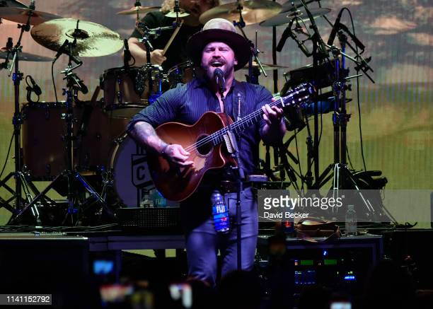 Zac Brown of the Zac Brown Band performs during the grand opening weekend of KAOS Dayclub & Nightclub at Palms Casino Resort on April 07, 2019 in Las...