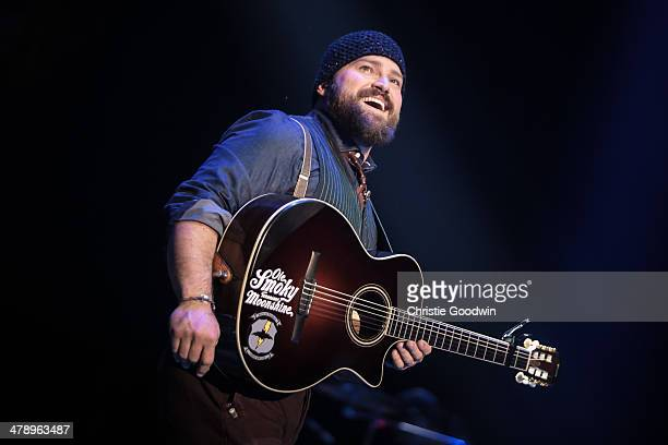 Zac Brown of the Zac Brown Band performs on stage on Day 1 of C2C Music Festival at O2 Arena on March 15 2014 in London United Kingdom