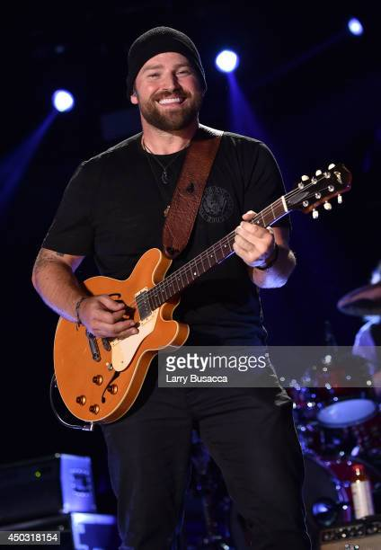 Zac Brown of the Zac Brown Band performs onstage at the 2014 CMA Festival on June 8 2014 in Nashville Tennessee