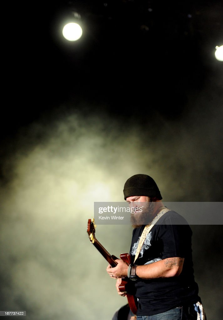 Zac Brown of the Zac Brown Band performs onstage during 2013 Stagecoach: California's Country Music Festival held at The Empire Polo Club on April 28, 2013 in Indio, California.