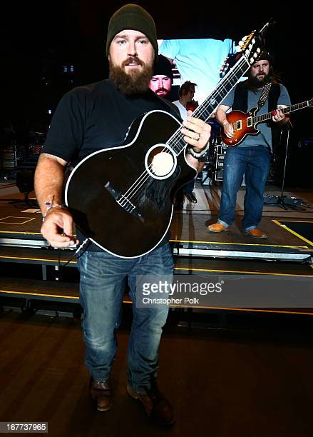 Zac Brown of the Zac Brown Band performs onstage during 2013 Stagecoach California's Country Music Festival held at The Empire Polo Club on April 28...