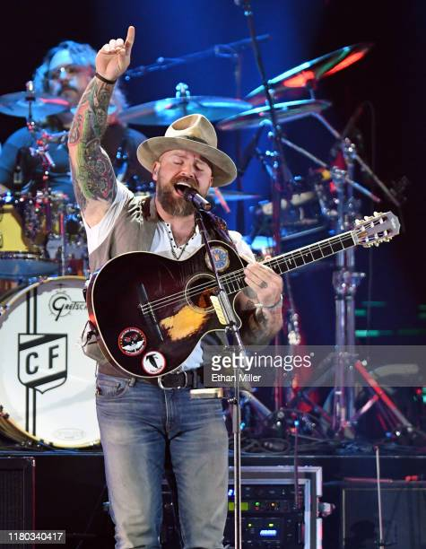 Zac Brown of the Zac Brown Band performs onstage during the 2019 iHeartRadio Music Festival at T-Mobile Arena on September 21, 2019 in Las Vegas,...