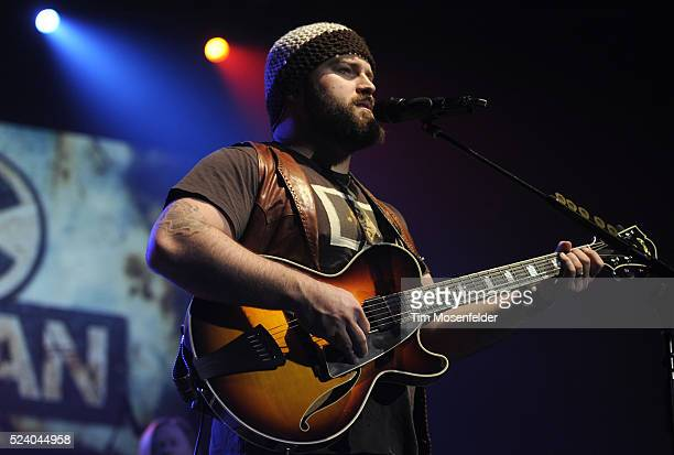 Zac Brown of the Zac Brown Band performs part of the bands' Breaking Southern Ground Tour at Arco Arena in Sacramento California