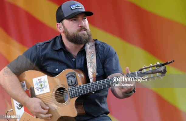 Zac Brown of Zac Brown Band performs during the 2012 New Orleans Jazz & Heritage Festival - Day 5 at the Fair Grounds Race Course on May 4, 2012 in...