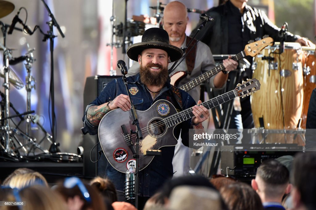 Citi Concert Series on TODAY Presents Zac Brown Band : News Photo