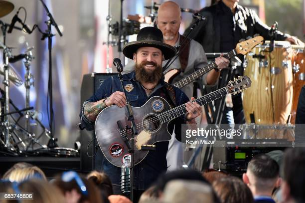 Zac Brown of Zac Brown Band performs during the Citi Concert Series on TODAY at Rockefeller Center on May 16, 2017 in New York City.