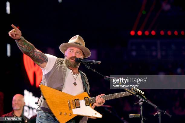 Zac Brown of Zac Brown Band performs onstage during the 2019 iHeartRadio Music Festival at T-Mobile Arena on September 21, 2019 in Las Vegas, Nevada.