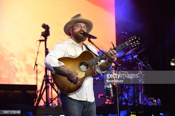 Zac Brown performs onstage during Zac Brown Band Down The Rabbit Hole tour at Citi Field on July 28 2018 in New York City