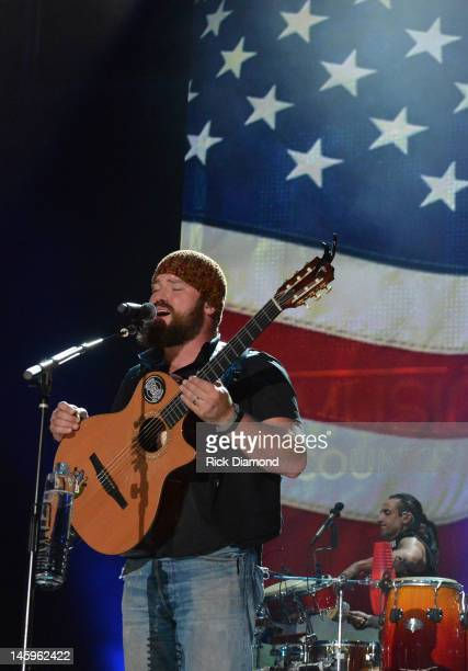 Zac Brown Zac Brown Band performs during the 2012 CMA Music Festival Day 1 at LP Field on June 7 2012 in Nashville Tennessee