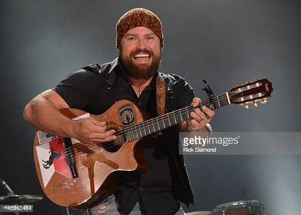Zac Brown - Zac Brown Band performs during the 2012 CMA Music Festival - Day 1 at LP Field on June 7, 2012 in Nashville, Tennessee.