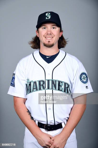 Zac Curtis of the Seattle Mariners poses during Photo Day on Monday February 20 2017 at Peoria Sports Complex in Peoria Arizona