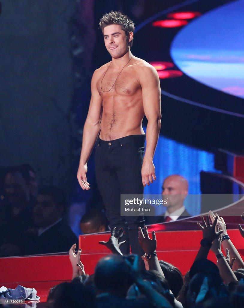2014 MTV Movie Awards - Show : News Photo