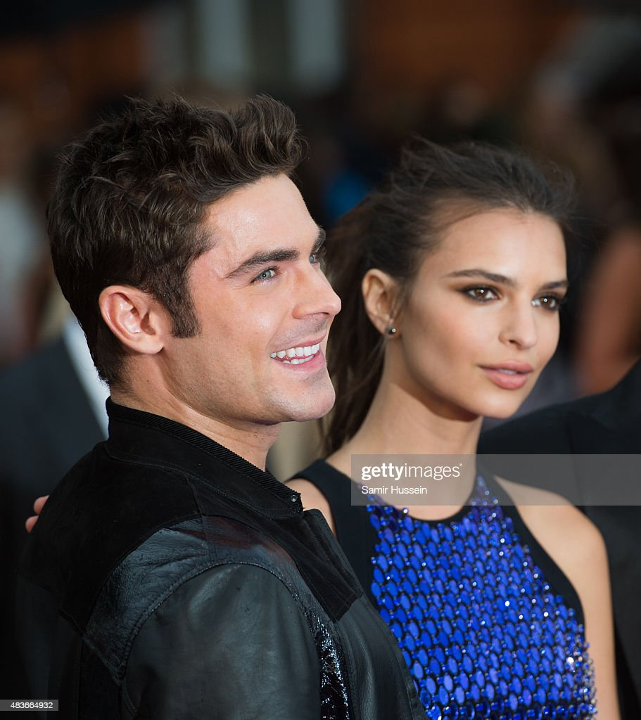 Zac Efron and Emily Ratajkowski attend the European Premiere of 'We Are Your Friends' at Ritzy Brixton on August 11, 2015 in London, England.