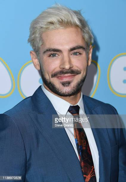 "Zac Efron arrives at the Los Angeles premiere of Neon And Vice Studio's ""The Beach Bum"" at ArcLight Hollywood on March 28, 2019 in Hollywood,..."