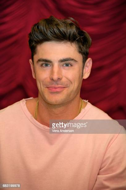Zac Efron at the 'Baywatch' Press Conference at the Faena Hotel on May 14 2017 in Miami Florida