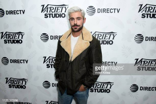 "Zac Efron at the ""Extremely Wicked Shockingly Evil and Vile"" party at DIRECTV Lodge presented by ATT at Sundance Film Festival 2019 on January 26..."